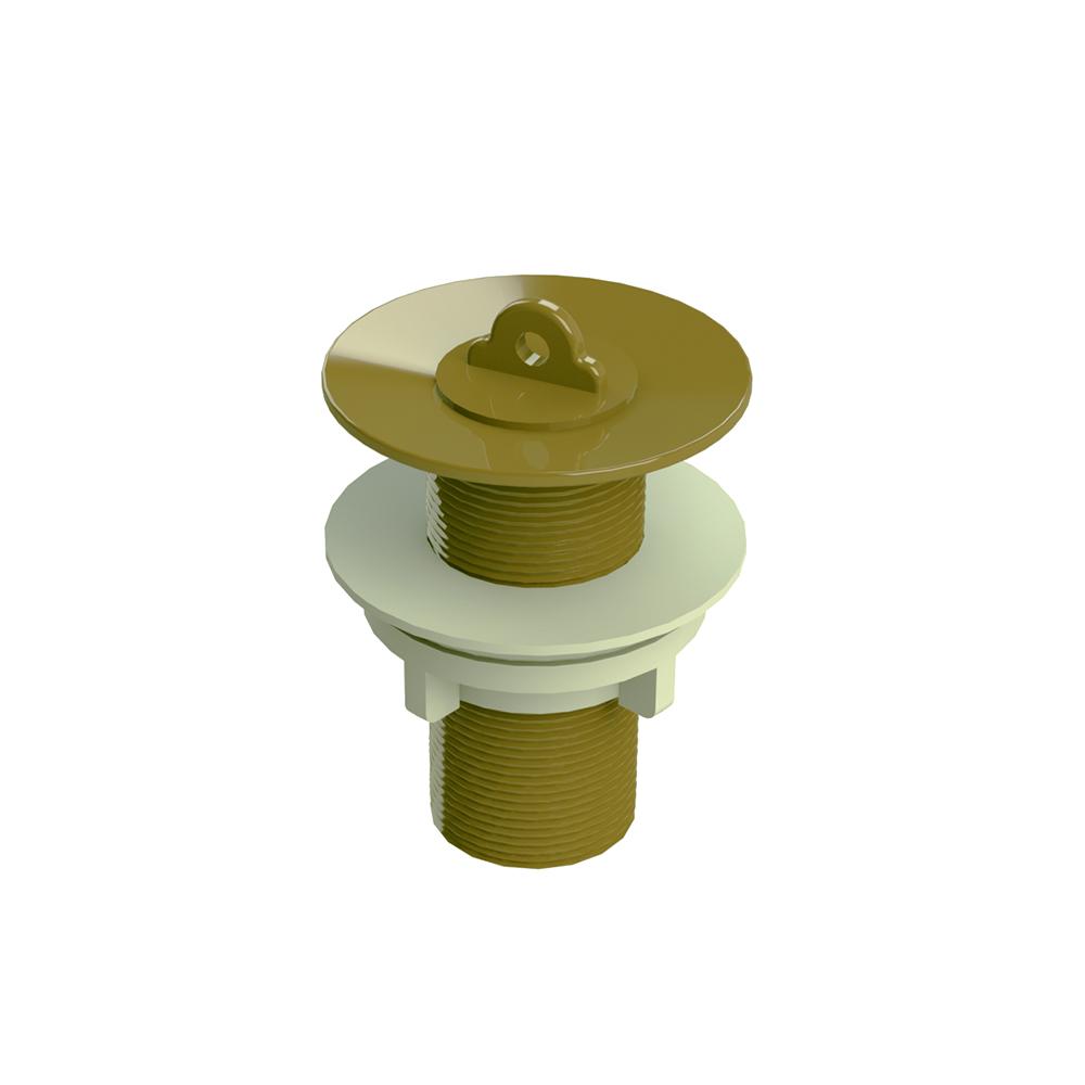 Válvula de Escoamento Romar Lavatório s/ Ladrão Ouro 1