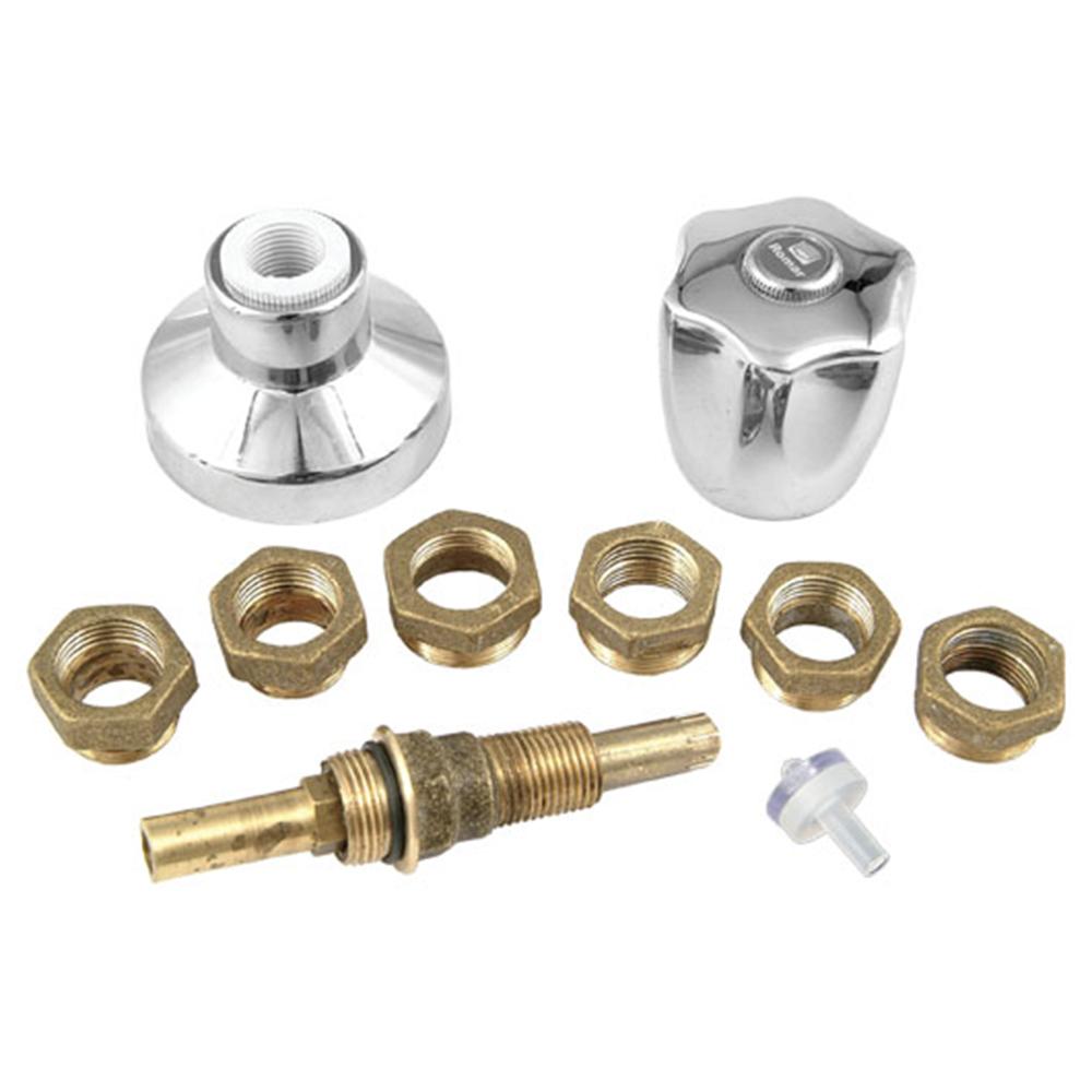 Kit Romar Reparo Universal p/ Registro c/ Acabamento C50 Luny 2505050 Cromado